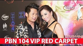 PBN 104 VIP Party - Red Carpet