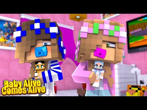 BABY ALIVE! COMES ALIVE?! (Little Carly Minecraft).