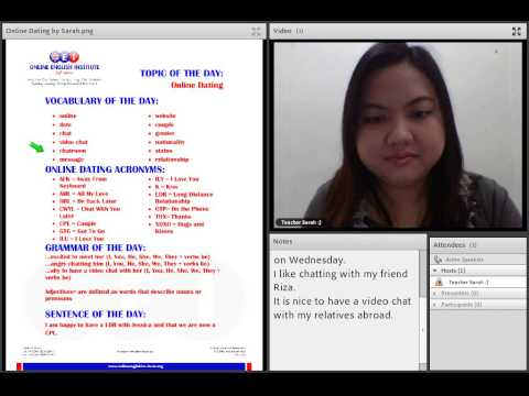 ONLINE DATING - Virtual English Learning by OEI