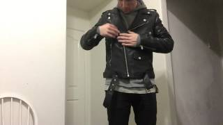 Pickup: BLK DNM Leather Jacket + Giveaway!