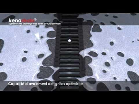 caniveaux hydrauliques pour drainage et vacuation des eaux de ruissellement kenadrain par. Black Bedroom Furniture Sets. Home Design Ideas