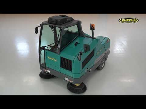 Industrial Sweeper Eureka BULL 200  | New Machine 2019 | With BULLsystem Patented Technology