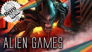 Die Geschichte der Alien-Spiele mit Simon | Retro Klub