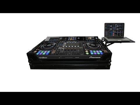 ProX XS-DDJRZXWLT Pioneer DDJ-RZX Digital Controller Flight Case w/ Laptop Shelf & Wheels