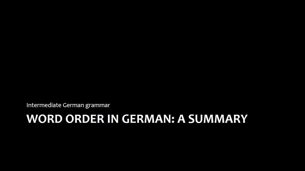 Intermediate German For Dummies Pdf