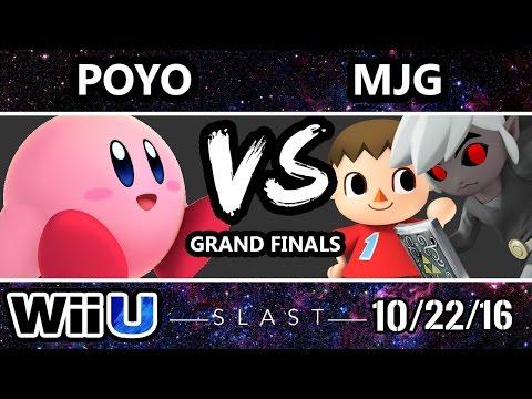 SLAST XXII - Poyo (Kirby) vs MJG (Villager/Toon Link) SSB4 Grand Finals- Smash Wii U - Smash 4
