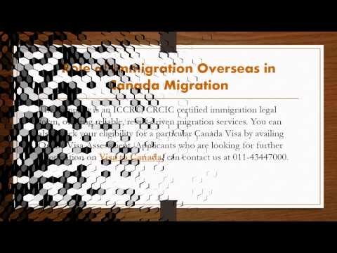 Immigration Overseas The leaders of Canada Migration Industry