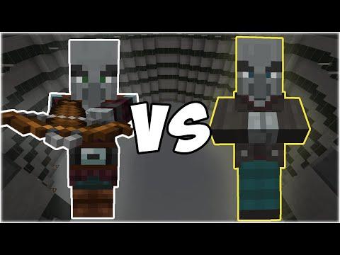 Pillager vs Vindicator - Minecraft Mob Battle