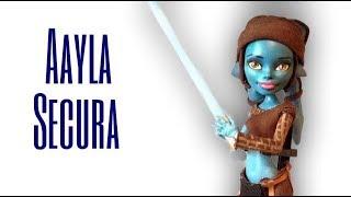 Custom Aayla Secura Doll [STAR WARS]