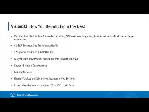 What's SAP? ERP Software SAP Business One Introduction (2017)