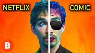 Umbrella Academy: What The Characters Should Have Looked Like