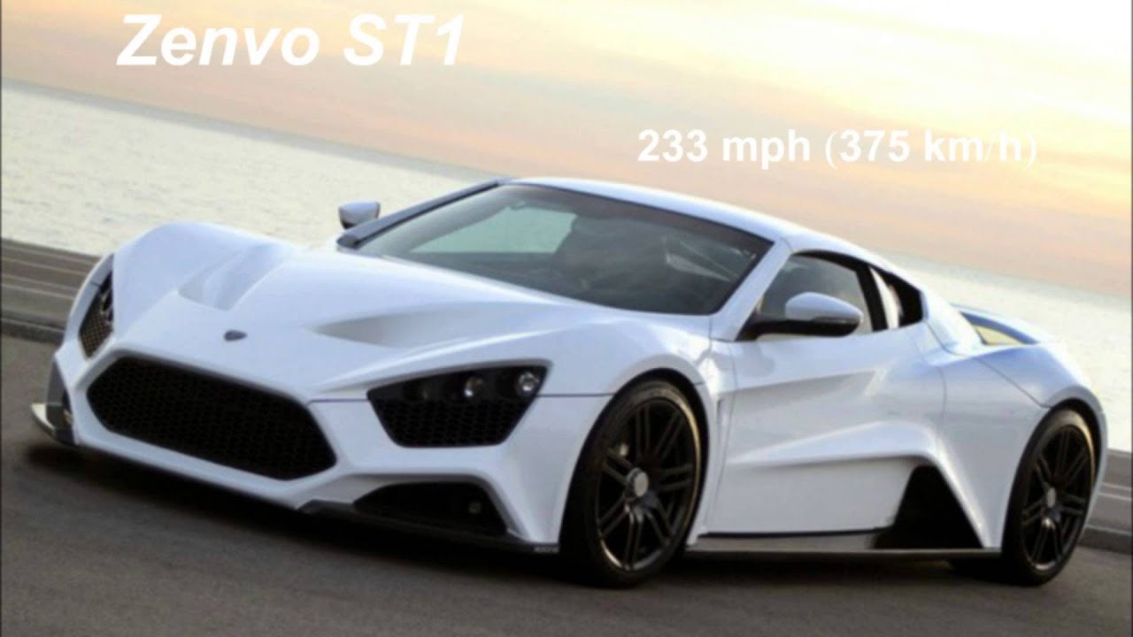 The 10 fastest cars in the world 2015/2016 - YouTube