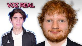 Escuchando la Voz Real de Ed Sheeran sin Autotune | Vargott