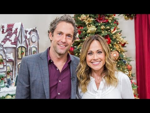 Reunited At Christmas.Highlights Reunited At Christmas Stars Nikki Deloach And Mike Faiola Hallmark Channel