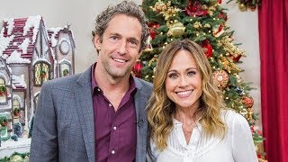 "Highlights - ""Reunited at Christmas"" stars Nikki DeLoach and Mike Faiola - Hallmark Channel"