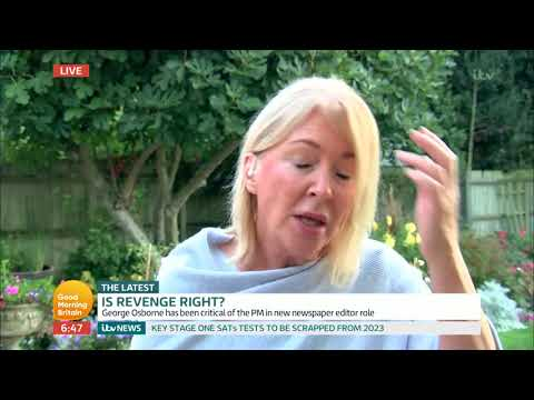 Conservative MP Shocked by George Osborne's 'Revenge' Comments | Good Morning Britain