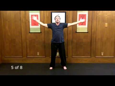 17 Minute Beginner Chi Kung Class - Heal Your Body with