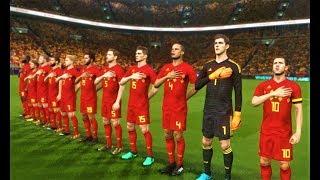 Belgium vs Costa Rica | Full Match & Goals 2018 | PES 2018 Gameplay HD