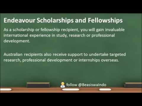 Australia - Endeavour Scholarships and Fellowships [140630]
