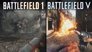 Battlefield V vs Battlefield 1 | Direct Comparison