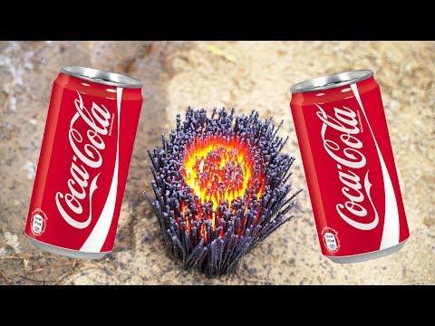 Experiment Sparklers Vs Coca Cola ! Super Reaction !