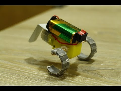 How to make Walking Robot - diy kids projects