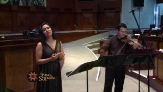 Recital de violín, piano y voz - 21 nov 2016 - Bloque 2