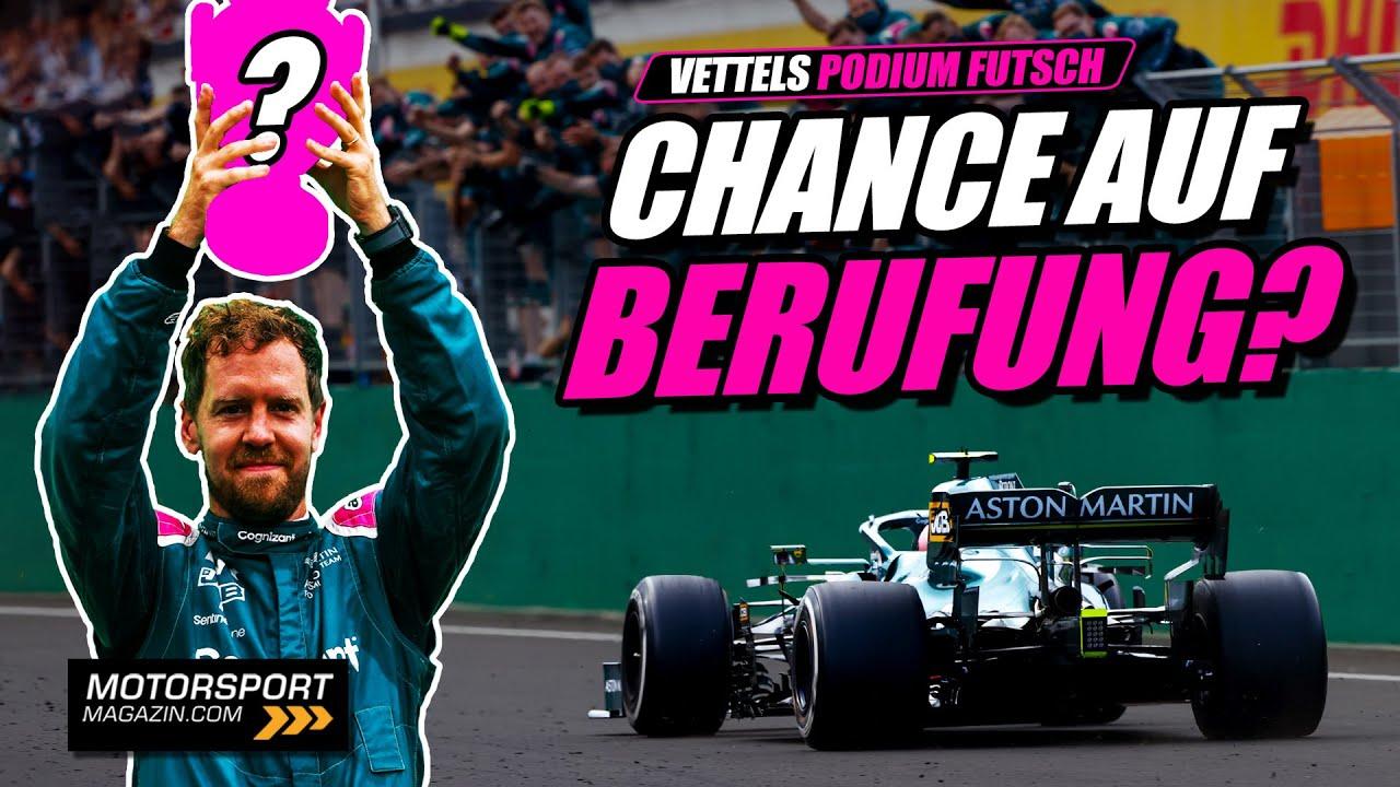 Vettels Chancen auf Berufung: Darf er P2 doch behalten? | Formel 1 2021