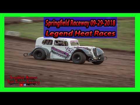 Legend Heat Races - Springfield Raceway - 9-29-2018 - Under The Lights 100