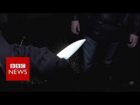 On a knife edge: The rise of violence on London's streets - BBC News