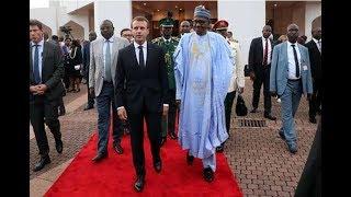 Takeaways from France's Emmanuel Macron meeting Nigeria's Muhammadu Buhari