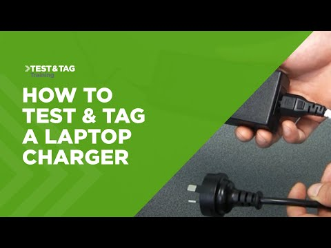 How to Test and Tag a Laptop