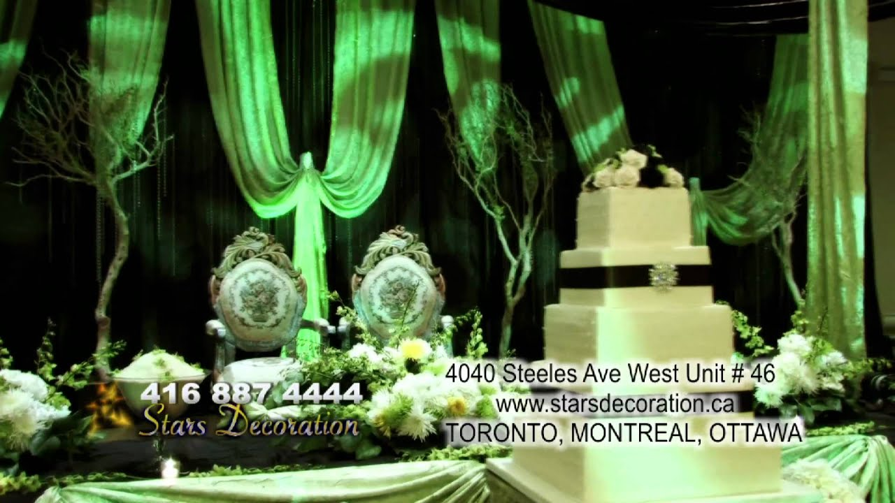 Wedding Decore Stars Decoration Commercial Youtube