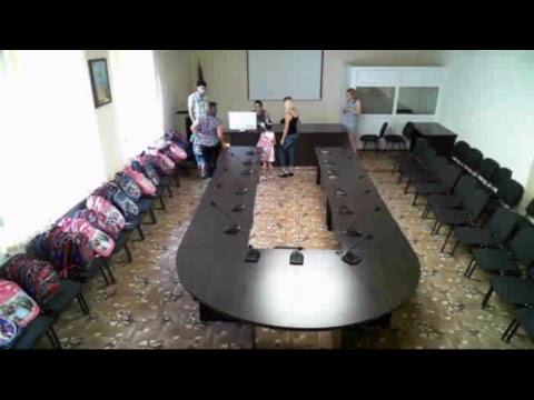 Հանդիպում առաջին դասարան հաճախող երեխաների հետ