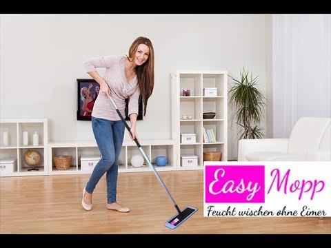 Easy Mopp Feucht Wischen Ohne Eimer Easy Mop Bucketless Mop