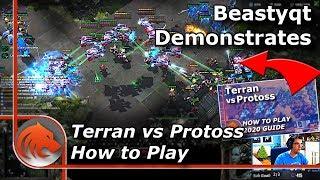 """StarCraft 2: Executing """"How to Play Terran vs Protoss 2020"""" Build!"""
