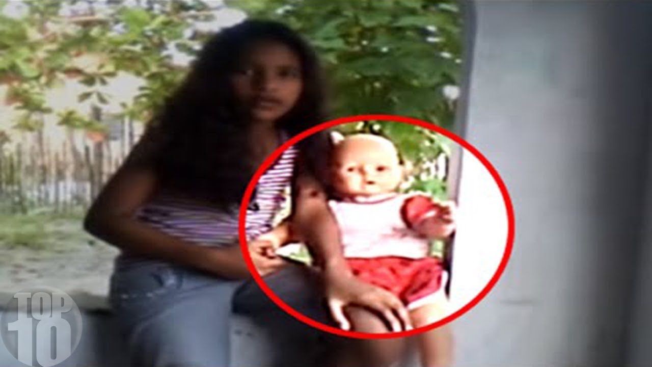 Download 10 Haunted Dolls CAUGHT MOVING ON CAMERA!
