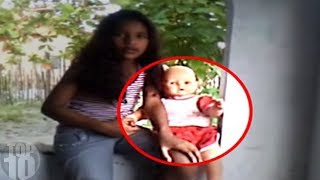 10 Haunted Dolls CAUGHT MOVING ON CAMERA!
