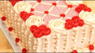 Easy Birthday Cake Decorating Idea by Cakes StepbyStep