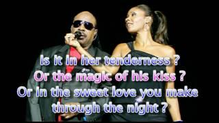 How will I know ? - Stevie Wonder featuring Aïsha - Lyrics
