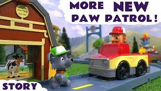 paw patrol and funny minions toy story rocky s roll along cow rescue playset toys family fun tt4u