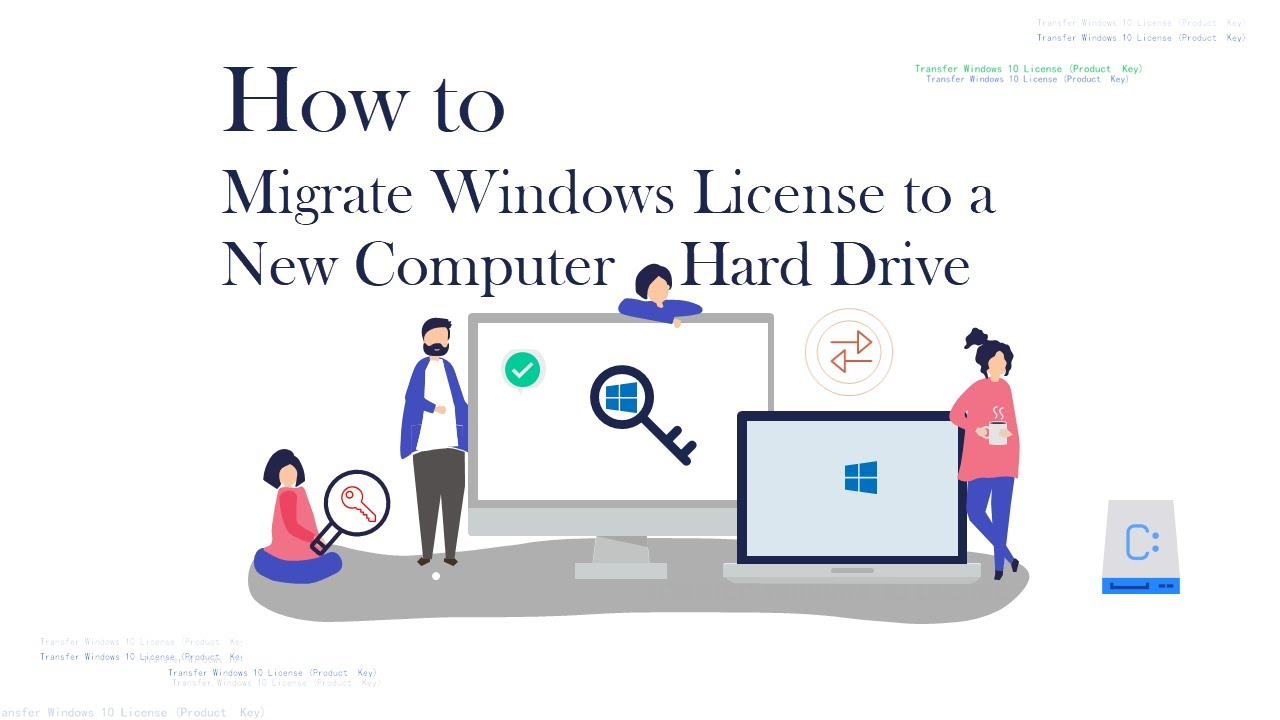 How to Migrate Windows 10 License – Activate Windows 10 on a New