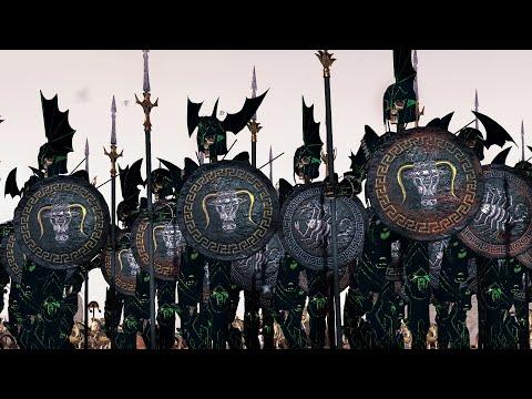 DREAD KING LEGIONS vs THE EMPIRE | Cinematic Battle | Total War WARHAMMER 2 |