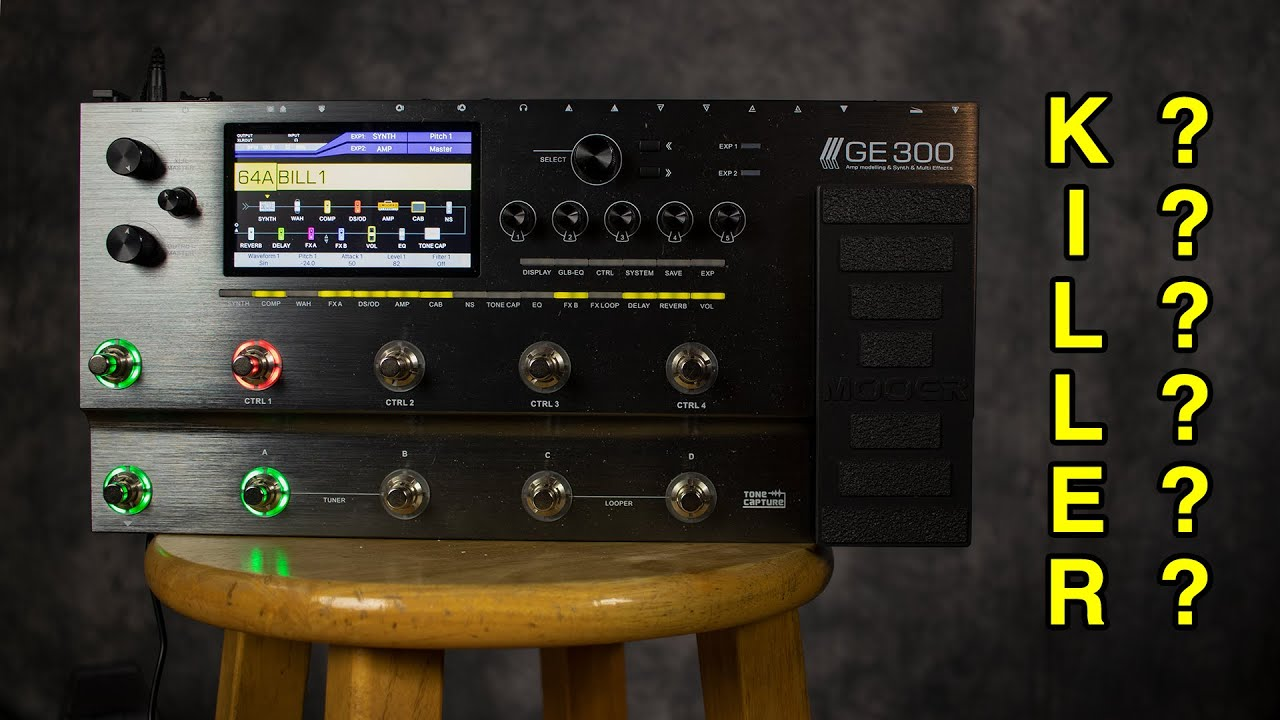 Mooer GE 300 Demo | Multi-Effects Disrupter?