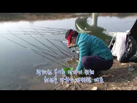[자연지] 68.경남권 겨울 물낚시터 - 경남 함안군 광려천(20150124)