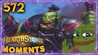 Perfect RNG = Perfect Lethal!! | Hearthstone Daily Moments Ep. 572