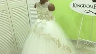 98fa4c2aca3 Custom made girl s dress 16-1506 Kingdom.Boutique from Sleeping beauty  collection - Duration  61 seconds.