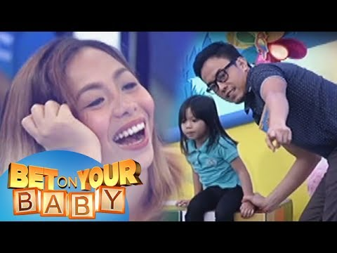 Bet On Your Baby: Baby Dome Challenge With Daddy Jaime And Baby Tala