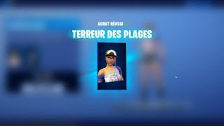 I BUY THE SKIN: TERROR OF PLAGES!! - FORTNITE