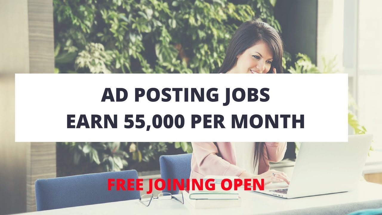 Ad Posting Jobs Without Investment Daily Payment (Govt Approved)